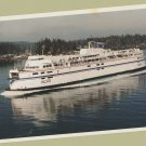 British Columbia Ferry Boat Postcard Vancouver Island