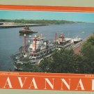 Cap'n Sam Riverboat Cruises Advertising Postcard Savannah Georgia