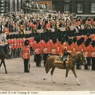 H.M. Queen Elizabeth Trooping The Colour Ceremony London Postcard Horses