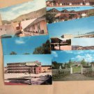 Various Motels & Inns, Vintage Advertising Postcards, Lot of 8, collection, Motor Hotels, 1960s
