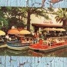 Casa Rio Famous Mexican Restaurant On San Antonio River, Vtg Advertising Postcard
