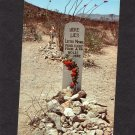 .Lester Moore Grave Western Humor / Comic Postcard, Boothill Cemetery, Tombstone, Arizona