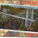 Suspension Bridge Over The Royal Gorge, Postcard, Canon City, Colorado