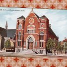 St. Leo's Church, Denver, Colorado, Historic Building, Roman Catholic, Vintage Postcard