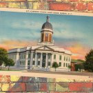 Cherokee County Court House, Murphy, North Carolina Postcard, Antique/Vtg