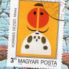 "Hungary Magyar Posta Postage Stamp Painting Reproduction ""Mke"" By Dezso Korniss"