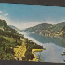 Postcard COLUMBIA RIVER GORGE Scenic View Cascade Range Oregon Washington