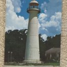 Post Card Historic Biloxi Lighthouse Mississippi Scenic
