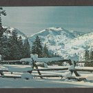 SQUAW VALLEY CALIFORNIA POSTCARD Scenic Winter Picturesque
