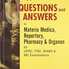 Objective Type Question and Answer in Materia Medica Repertory Pharmacy & Orgnanon