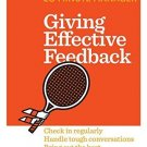 Giving Effective Feedback (HBR 20-Minute Manager Series) [Paperback] [Oct 23