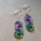 Colorful Rings - Dangle Earrings