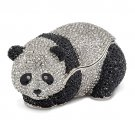 Bejeweled Full Crystal Panda Bear Trinket Box