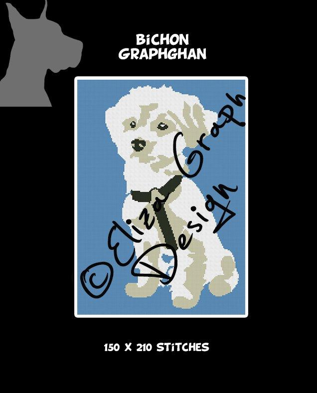 Bichon Crochet Graphghan Blanket Pattern