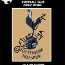 Tottenham Football Club logo crochet graphghan blanket pattern