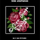 Rose Bouquet crochet graphghan blanket pattern