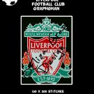 Liverpool  Football Club logo crochet graphghan blanket pattern