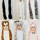 DOZEN LONG ANIMAL HAT