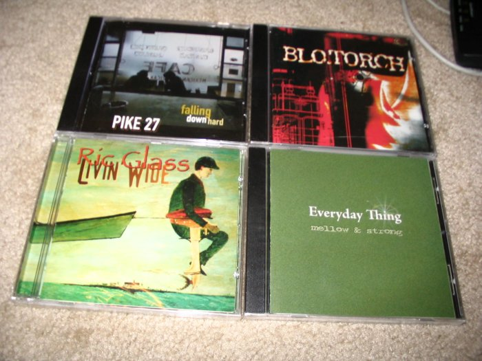 Blo.Torch Local Artist Sealed & New CD