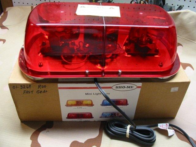 Able 2 Mini Halogen Lightbar - RED