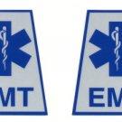Reflective Helmet Trapezoid - EMT