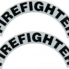 Reflective Helmet Crescent - FIREFIGHTER