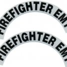 Reflective Helmet Crescent - FIREFIGHTER EMT