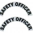 Reflective Helmet Crescent - SAFETY OFFICER