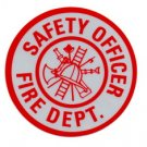 "3"" Round Reflective Decal - SAFETY OFFICER"