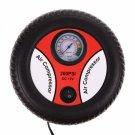 12V Portable Electric Mini Air Compressor Pump Car Tire Inflator Black