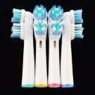 4pcs Universal SB-417A Replacement Electric Toothbrush Head for Oral-B White