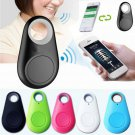2-in-1 Bluetooth 4.0 GPS Tracker Self-Portrait Anti-lost Alarm Device Black