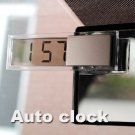 Digital LCD Display Car Electronic Clock With Sucker
