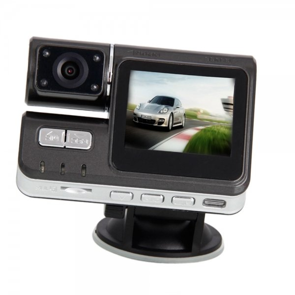 """2.0"""" HD 120° Wide Angle Lens Car DVR Recorder"""
