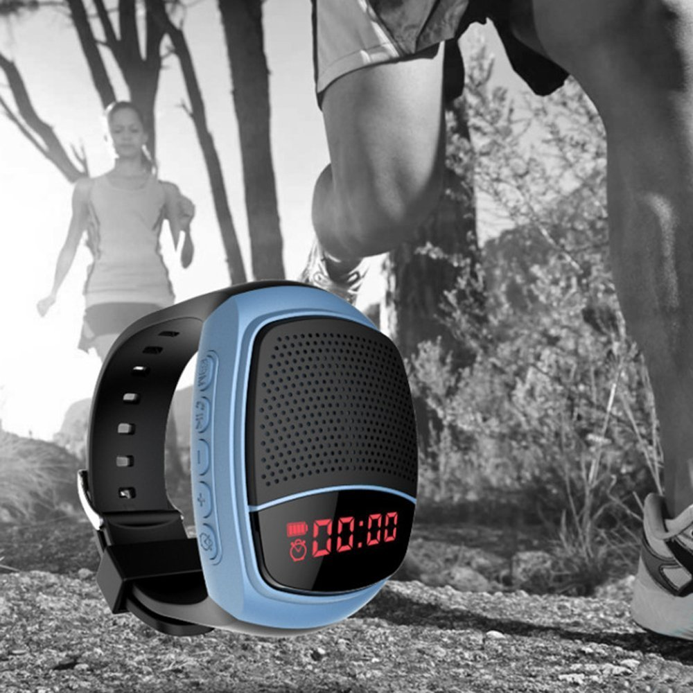 Multifunctional Bluetooth Watch Speaker with LCD Screen
