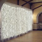 10FT x 10FT 300-LED Romantic Christmas Wedding Outdoor Decoration Curtain String Light