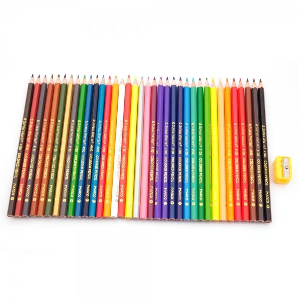 36 Classic Colors Wooden Art Drawing Pencils Set for Secret Garden Coloring Books Painting
