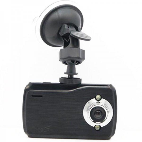 K7000 720P 2.7 inch 150-Degree Wide Angle Night Vision Car DVR Recorder Black