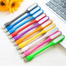 10-Pack Portable Flexible USB LED Lights - Assorted Colors