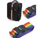 Adjustable Luggage Suitcase Strap Baggage Belt Tie Down Travel Secure Lock Random Delivery