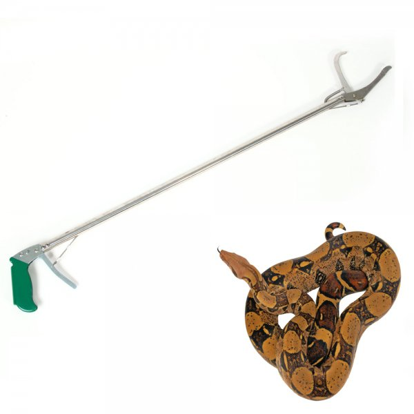 Aluminum Alloy Snake Clamp with Self-lock Function (100cm) Silver & Green