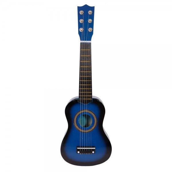 "21"" Acoustic Guitar + Pick + String Blue"