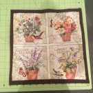 Garden Blessings Floral Table Mat