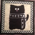 Glam Cat Table Runner Handmade