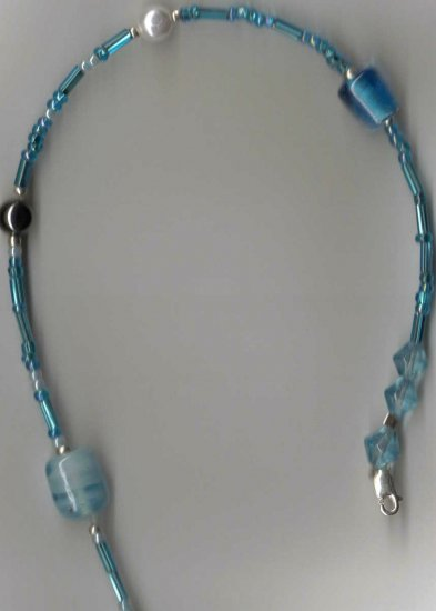 WATER 4-in-1 NECKLACE approx. 50in SS clasp