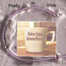PRETTY IN PINK 4-IN-1 NECKLACE approx 50in