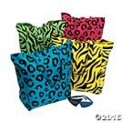 Neon Animal Print Bag