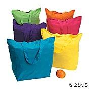 Neon Cotton Baby Bag