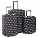 Skull n Crossbones Luggage - 3pc Set