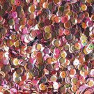 8mm Cup Sequins Red Gold Rainbow Iris Shiny Metallic. Made in USA